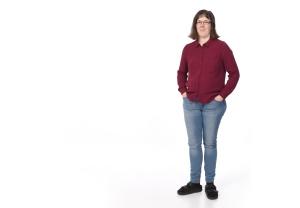 Lena Petersson. Högupplöst bild. Foto: Per-Åke Roos, Rapps Foto.